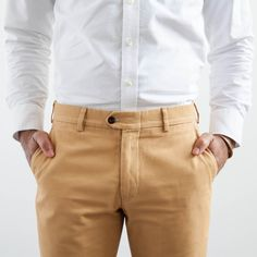 Elk Head Clothing | Sanded Canvas Trouser | Elk Head Clothing