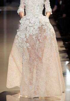 Elie Saab haute couture s/s 2013. Application.