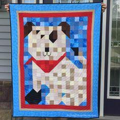de Jong Dream House blog Ruff Patch quilt from Quiltmaker Patch Pals