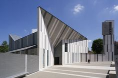 Church of the Resurrection of Christ, Milan (Italy) by Cino Zucchi Architects and Zucchi & Partners