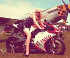 Erik Buell Racing's krysta at the Buell owners event Lincolnshire Aviation Heritage Centre. To hire our promo models just email hire@grid-girls.co.uk Photo by @gridgirlz