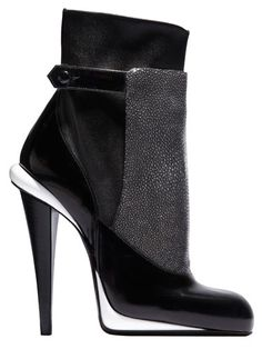 Contrast Ratio: Shop Bazaar's picks for the best shoes and accessories for fall - Fendi bootie