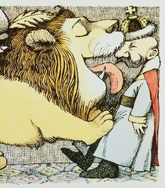 "¤ ""Albert and the Lion"" by Maurice Sendak"