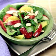 Ensalada de Espinaca y Fruta Fresca