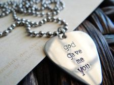 "Perfect gift for my guy! I tell him this all of the time. and the song ""God gave me you"" by Blake Shelton always makes me smile (:"