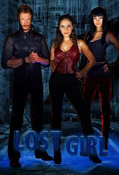 Lost Girl on Syfy (Dyson, Bo, and Kenzi)