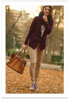 look con pantalones y chaqueta-balamoda