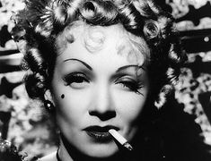 Marlene Dietrich, early 1930's.  A woman before her time.