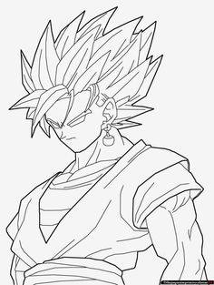 Worksheet. Resultado de imagen para imagenes de dragon ball z para colorear e