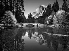 Ansel Adams...Half Dome photo...never tire of this view!  YOSEMITE!  Google Image Result for http://4.bp.blogspot.com/-Ie908Plo1SM/T8-WxjI_7lI/AAAAAAAAAWM/NwAjrs1ghEY/s1600/ansel-adams.jpg