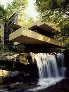 Casa con cascada!!!!