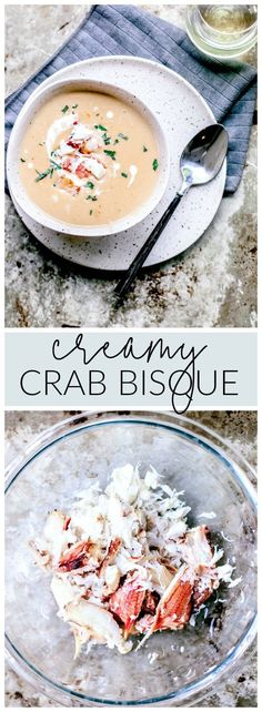 This Creamy Crab Bisque brings sweet lumps of Dungeness crab meat to your bowl with a rich flavor-packed broth.