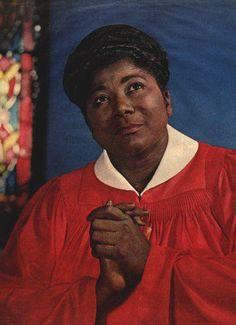 Mahalia Jackson, gospel vocalist, civil rights activist