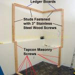 How To Build a Basement Closet step-by-step tutorial. The 2x4 corner post and door rough opening are framed in this installment of the project.