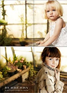 Burberry kids campaign photo: igor borisov styling: jet vervest