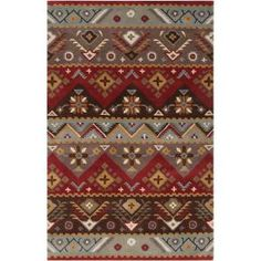 Artistic Weavers Dillon Rust Wool 8 ft. x 10 ft. Area Rug - Model # DIL4200-810 at The Home Depot