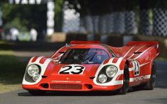 1970 Porsche 917. First Porsche to win Le Mans 24 hours, driven by Richard Attwood, HansHermann