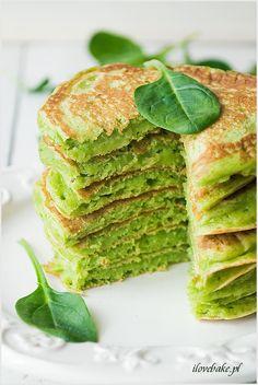 Spinach pancakes #recipes #food #pancakes