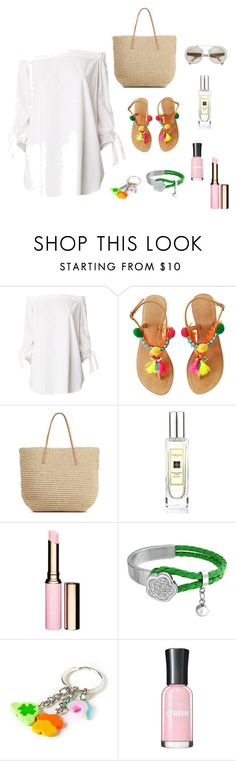 A fashion look from July 2016 featuring sleeve shirts, flats sandals and tote handbags. Browse and shop related looks. Jo Malone, Polyvore Outfits, Bling Jewelry, Target, Shoe Bag, Shoulder, Collection, Shopping, Design