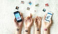 Picattoo transforma fotos do Instagram em tatuagens temporárias (Foto: Divulgação)