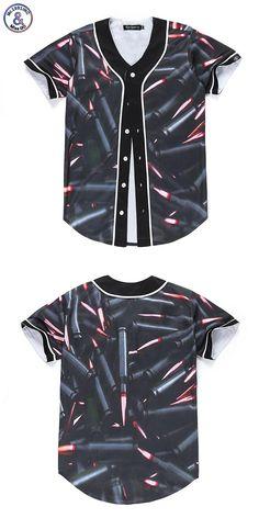 Designers New Fashion Men/women 3d tshirt Print Bullets Summer Tops  Jersey T-shirt Cool Button Shirts