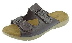 Pierre Dumas Women's Flex-2 Sandals (7, Brown) -- Check this awesome product by going to the link at the image.