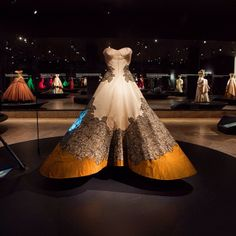 """""""Charles James: Beyond Fashion,"""" on view through August 10, opens today! Approximately sixty-five of James's most notable designs are presented in two locations—the new Anna Wintour Costume Center and special exhibition galleries on the Museum's first floor. #metmuseum #charlesjames by metmuseum"""