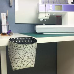 Interesting Choose the Right Sewing Machine Ideas. Cleverly Choose the Right Sewing Machine Ideas. Scrapbook Organization, Sewing Room Organization, Diy Sewing Projects, Sewing Tutorials, Toddler Sewing Patterns, Knitting Patterns, Sewing Machines Best, Fabric Basket Tutorial, Scrappy Quilts