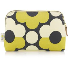 b2c91649bbaf Orla Kiely Sunset Flora Cosmetic Bag found on Polyvore featuring beauty  products