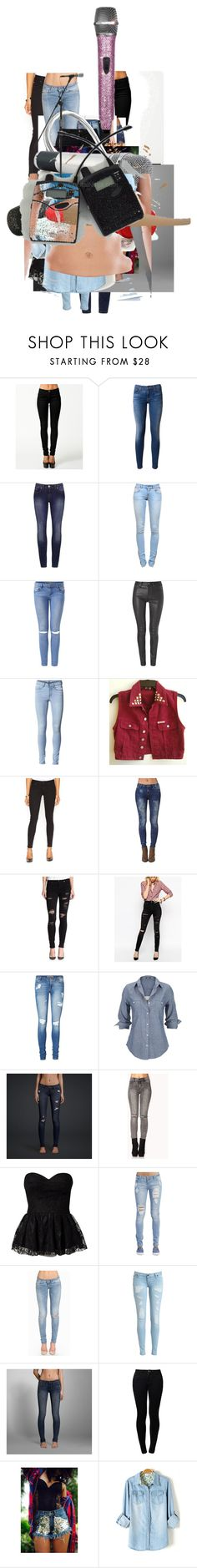 """""""Ignore"""" by cleo-scott ❤ liked on Polyvore featuring ONLY, Hudson, Anine Bing, Helmut Lang, GUESS, Hudson Jeans, Bullhead Denim Co., True Religion, ASOS and Vero Moda"""