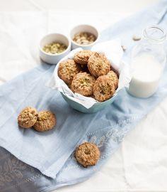 GF Millet cookies- millet flakes, buckwheat flour, almond meal