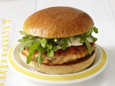 Perfect Salmon Burgers Recipe : Food Network Kitchen : Food Network - FoodNetwork.com