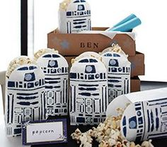 Our Star Wars Party Ideas include everything from Wookie Cookies to Yoda Soda, with costumes, free party printables, cupcakes, cookies, decorations & more!