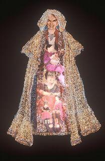 Art by Bonnie Meltzer: Crochet as Art ~ Crochet Queen: Royal Ramblings. Read Bonnie's guest post about BIG crochet art:http://bit.ly/19tdJCF