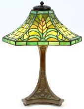 DUFFNER & KIMBERLY FLAMING SWORD TABLE LAMP