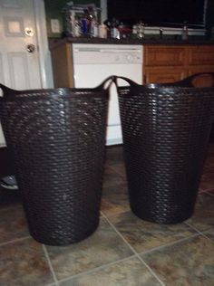 Laundry baskets like new!