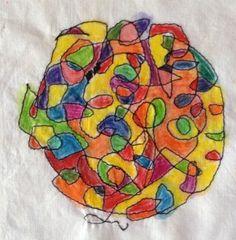 Sketchbook Sunday - Textiles students share their work on WeAreOCA blog: http://weareoca.com/fine_art/sketchbook-sunday/
