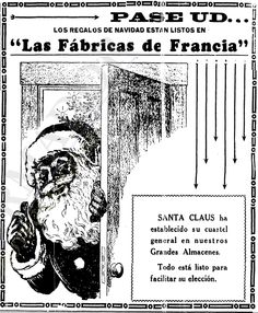1930 - Anuncio de Las Fábricas de Francia para la Navidad - Anuncio publicado en el Informador Guadalajara, Jalisco México