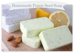 Homemade Poppy Seed Soap Recipes              Making homemade soap can be as easy or as hard as you want it to be. As for me, I choose the...