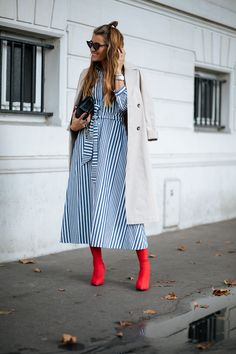 See The Most Covetable Street Style Vetements From Paris+#refinery29