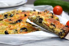 Savoury Cake, Vegetable Pizza, Quiche, Low Carb, Healthy Recipes, Bread, Fitness, Cooking, Breakfast