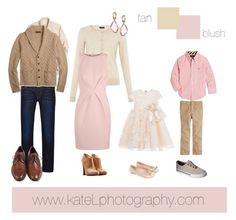 What to Wear: Fall Family Photo Sessions, by Kate Lemmon of Kate L Photography - National Association of Professional Child Photographers tan_blush Family Portraits What To Wear, Family Portrait Outfits, Family Picture Outfits, Family Posing, What To Wear Fall, How To Wear, Spring Family Pictures, Family Photo Colors, Quoi Porter