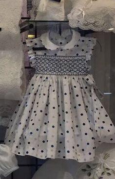 adorable yet sophisticated Girls Smocked Dresses, Baby Dress Design, Smocks, Smocking Patterns, Kids Frocks, Smock Dress, Little Girl Dresses, Toddler Dress, Heirloom Sewing