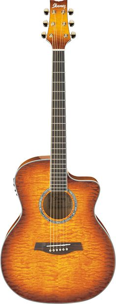 Ibanez acoustic guitars a great love of mine. Built well for the female player, and the quality for the cost is hard to beat. Ibanez Acoustic Guitar, Archtop Guitar, Acoustic Music, Jazz Guitar, Music Guitar, Guitar Amp, Cool Guitar, Playing Guitar, Rick E