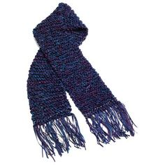 Tie-Dye Knit Scarf from Tulip   FaveCrafts.com
