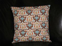 Pillows Set of Two 18x18 Designer Fabric by LittlePeepsHomeDecor, $32.00