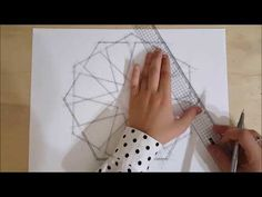 How to draw an Islamic geometric pattern: Ayyubid Star. Mandala Doodle, Doodles Zentangles, Mandala Art, Islamic Art Pattern, Pattern Art, Pattern Design, Geometric Drawing, Geometry Art, Islamic Architecture