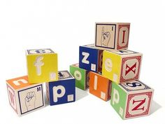 Uncle Goose: Building Blocks with Braille ABCs and Math