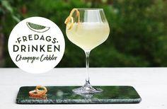 Fredagsdrinken – Så gör du Champagne Cobbler