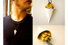 Junk - Fries - Very Limited handmade jewels by Morgane Morel